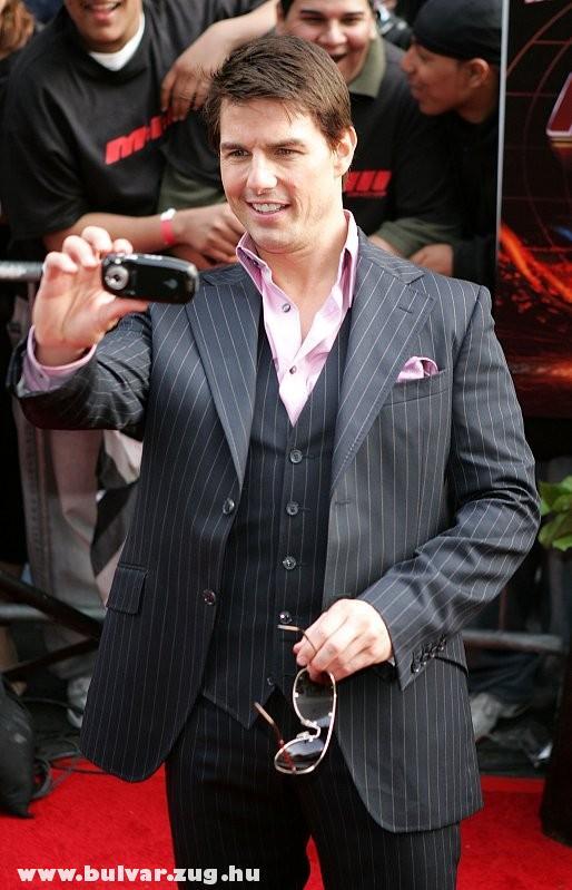 Tom Cruise a gentleman