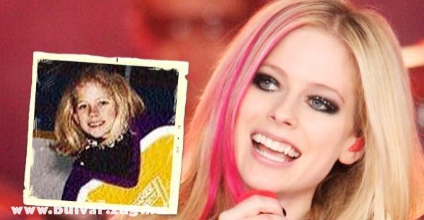 Avril Lavigne (Gyermeként)