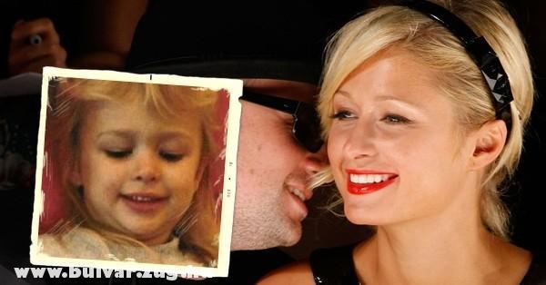 Paris Hilton (Gyermekként)