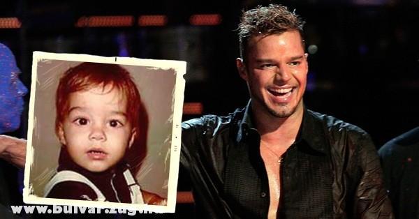 Ricky Martin (Gyermekként)