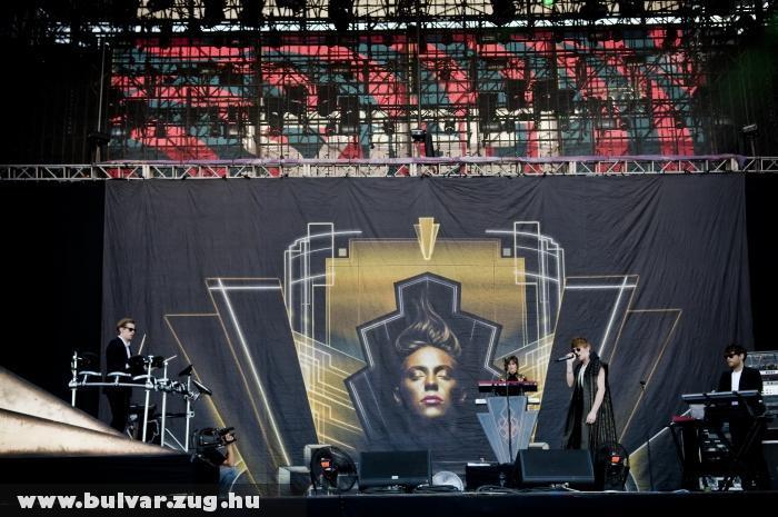 La Roux - Sziget 2011
