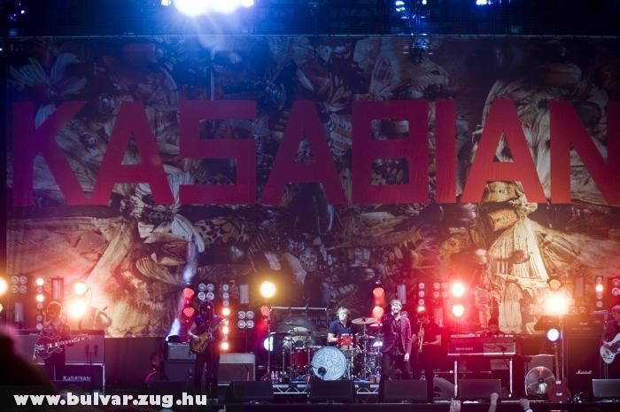 Kasabian - Sziget 2011