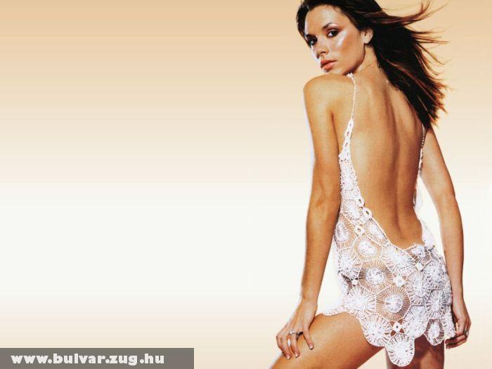 Victoria Beckham lenge öltözékben