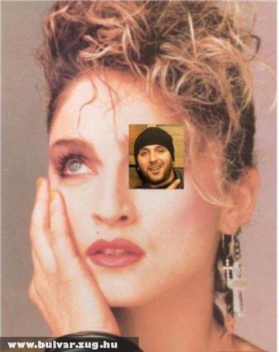 Madonna szeméremajka! :D