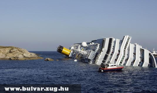 Costa Concordia (a beleset után)