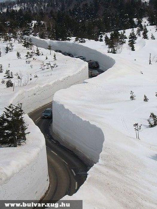 Kis hó japánban
