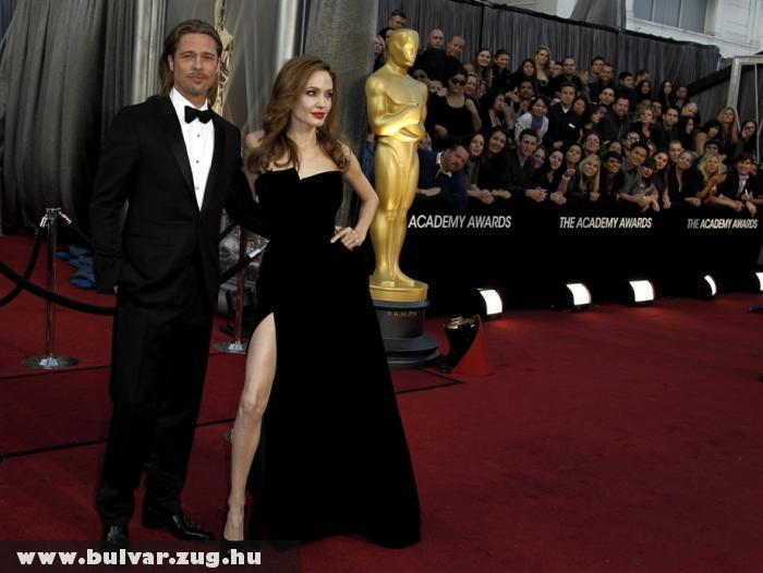 Oscar 2012: Angelina Jolie és Brad Pitt
