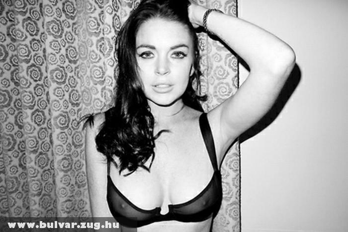 Lindsay Lohan villantott