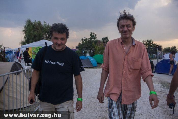 Scherer Péter és Mucsi Zoltán az EFOTT-on