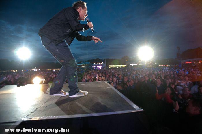 Geszti Péter a Szigeten 2011-ben