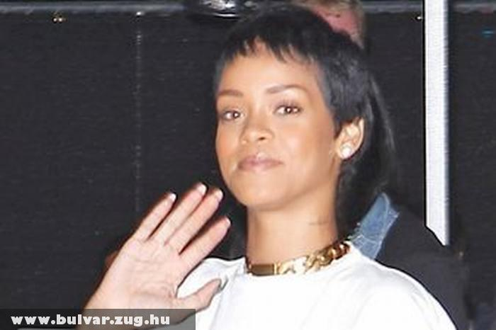 Rihanna új, fiús frizurája
