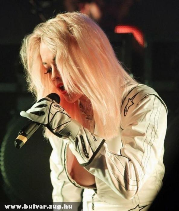 Koncerten villantott Rita Ora