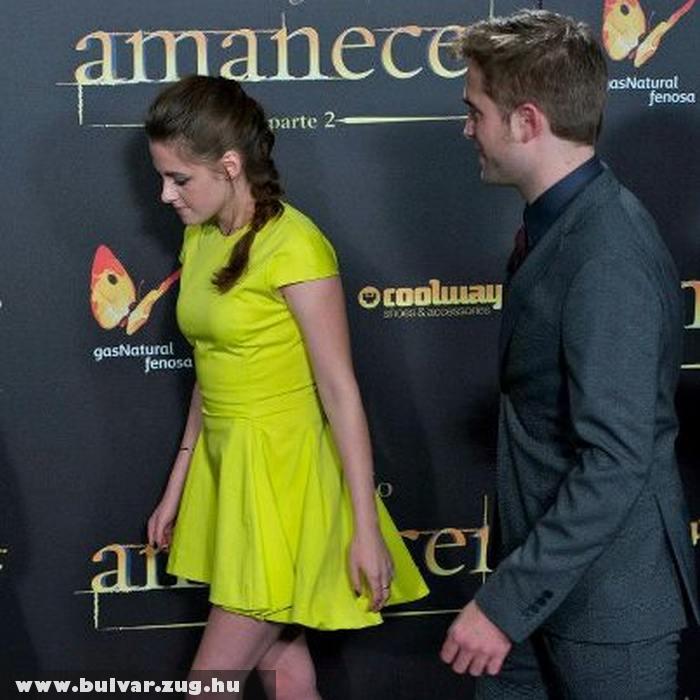 Kissé elõnytelen ruhában jelent meg Kristen Stewart