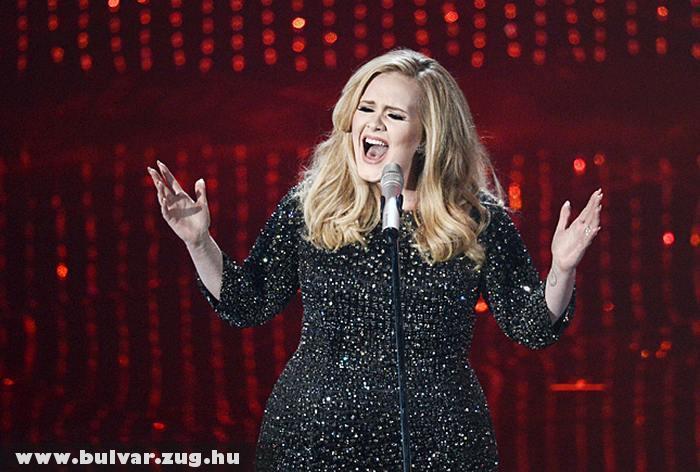 Adele fellépésen az Oscar-on