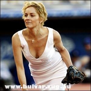Sharon Stone és a baseball