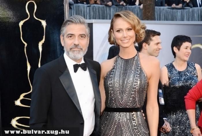 George Clooney az Oscar-on