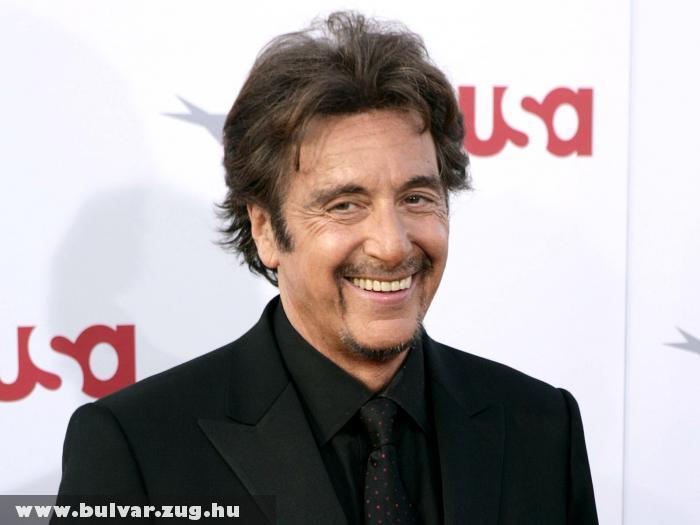 Al Pacino nem tud színjátszás nélkül élni - Saját pénzébõl forgat