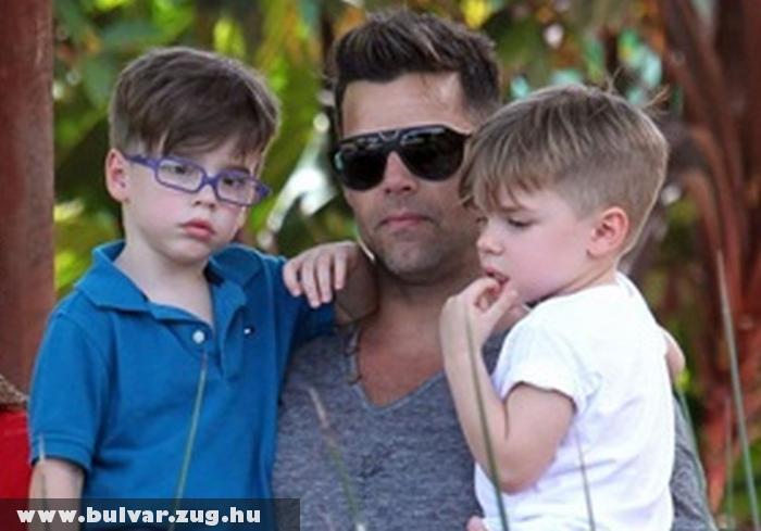 Ricky Martin állatkertbe vitte gyerekeit