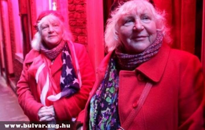 Nyugdíjba vonult Amszterdam két legidõsebb örömlánya