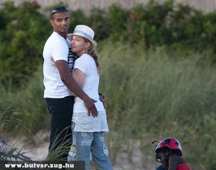 Madonna és kedvese, Brahim Zaib