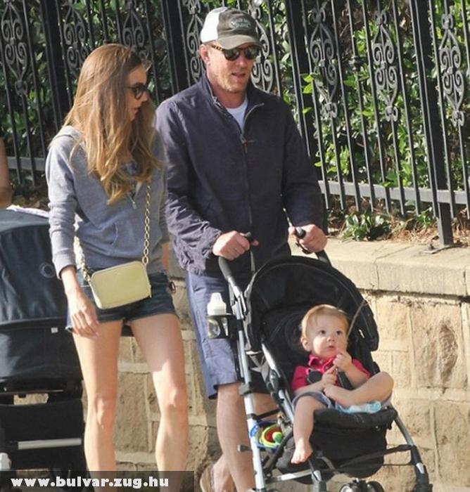 Guy Ritchie és családja