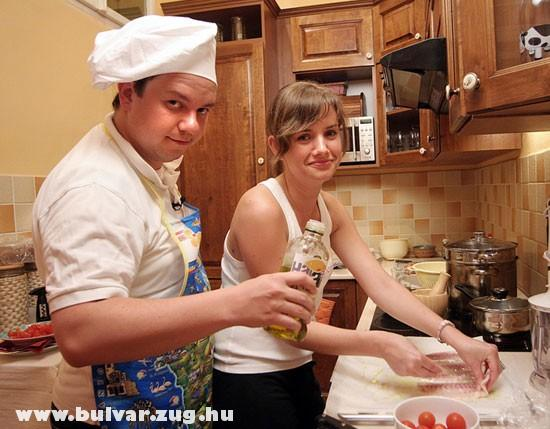 Nacsa a konyhában