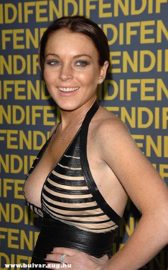 Kivillan Lindsay Lohan mellbimbója
