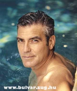 A sármör George Clooney
