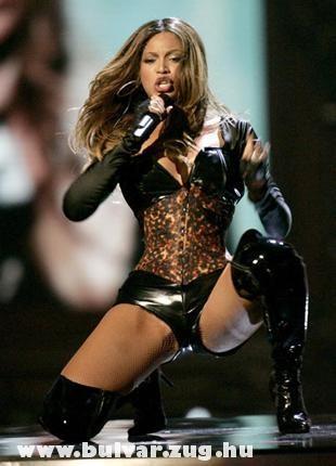 Beyonce koncert közben