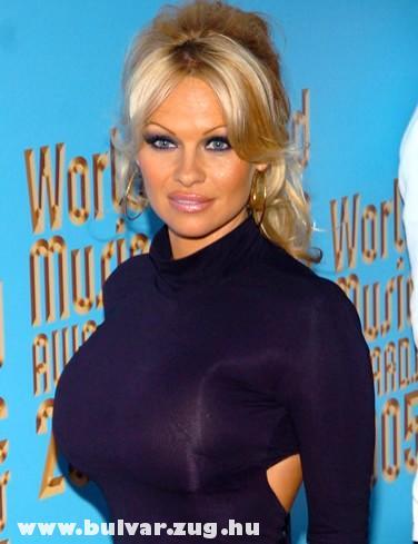 Pamela Anderson a nagyágyú