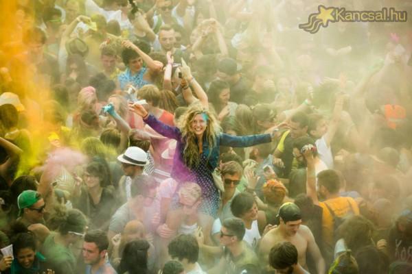 Colorparty - Sziget 2014 Fesztivál