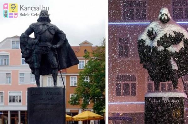 Darth Vader szobor!