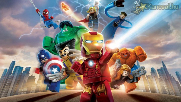 Lego Marvel team