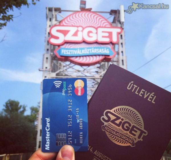 Sziget 2014 - fesztiválköztársasági paypass :) és útlevél