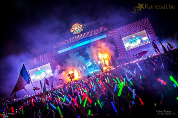 Sziget Festival 2014 End Show