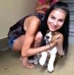 Az Éjjel-Nappal Budapest Anikója nagyon szereti a kutyusokat
