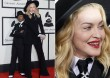 Madonna a díjátadón