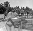 Ivókút a Palatinus strandon 1977