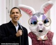 Barack Obama & Eastern Bunny