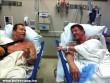 Arnold Schwarzenegger és Sylvester Stallone egymás mellé került a kórházban