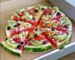Pizza alakú dinnye-gyümölcs