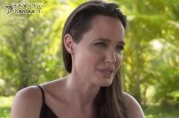 Először nyilatkozott válásáról Angelina Jolie