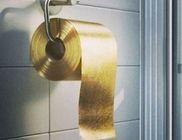 Aranylapokból van a világ legdrágább WC papírja