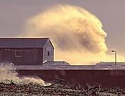 Emberi arcot formáz meg a hatalmas hullám