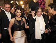 Már a bál közepén távozott Kim Kardashian
