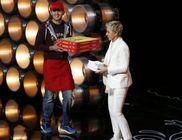 Ezer dollár borravalót kapott a pizzafutár az Oscaron