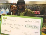 A szerencsés házaspár egy hónap alatt háromszor nyert a lottón