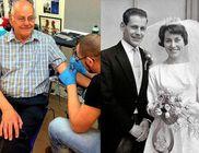 50. házassági évfordulójukra egy tetoválással lepte meg feleségét a 77 éves férj
