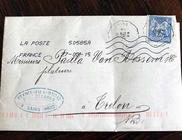 138 év alatt ért célba a feladott levél